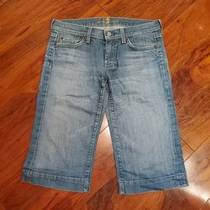7 for All Mankind Bermuda Jean Short